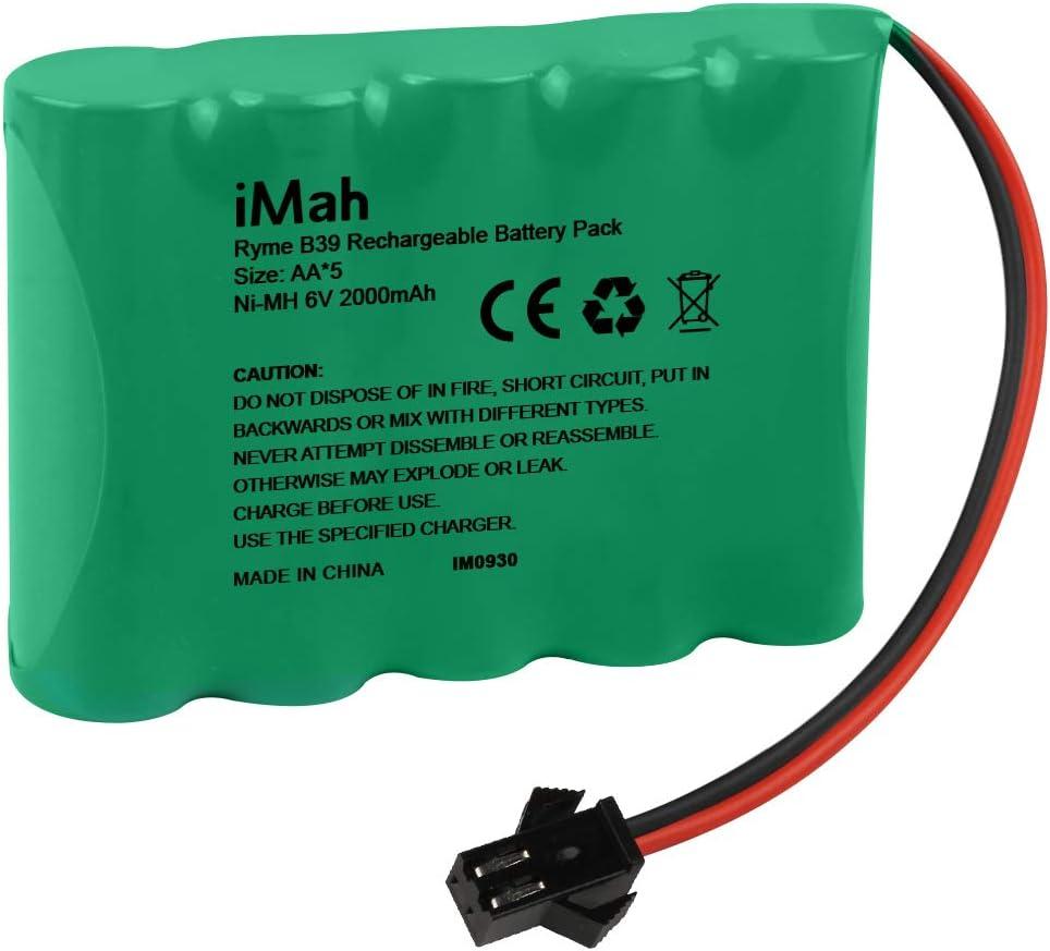 Bateria Ni-MH AA 6v 2000mAh con conector SM-2P Plug