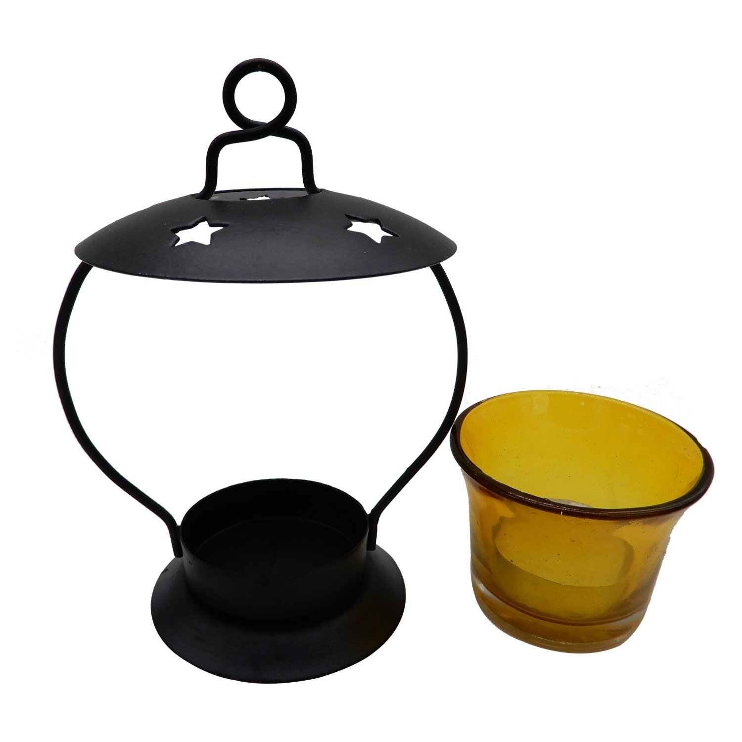 Candle Stand with device of K Khandekar Candle Holder 6.5 Inch T-light Votive Candle Stand T-light Stand