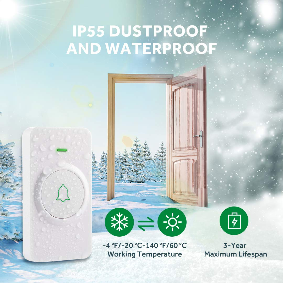 AVANTEK CW-11 Wireless Doorbell