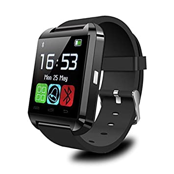 Padgene® Montre Intelligente SmartWatch Montre connectée Bluetooth 4.0 Bracelet -pour Les Smartphones Android Samsung