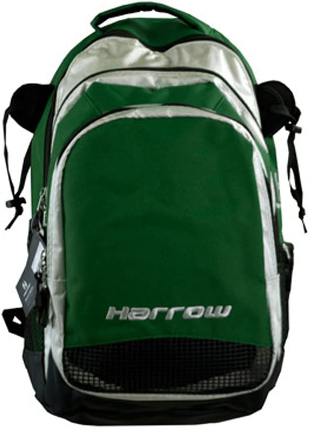 Harrow Elite Backpack, Forest/Silver : Field Hockey Stick Bags : Sports & Outdoors