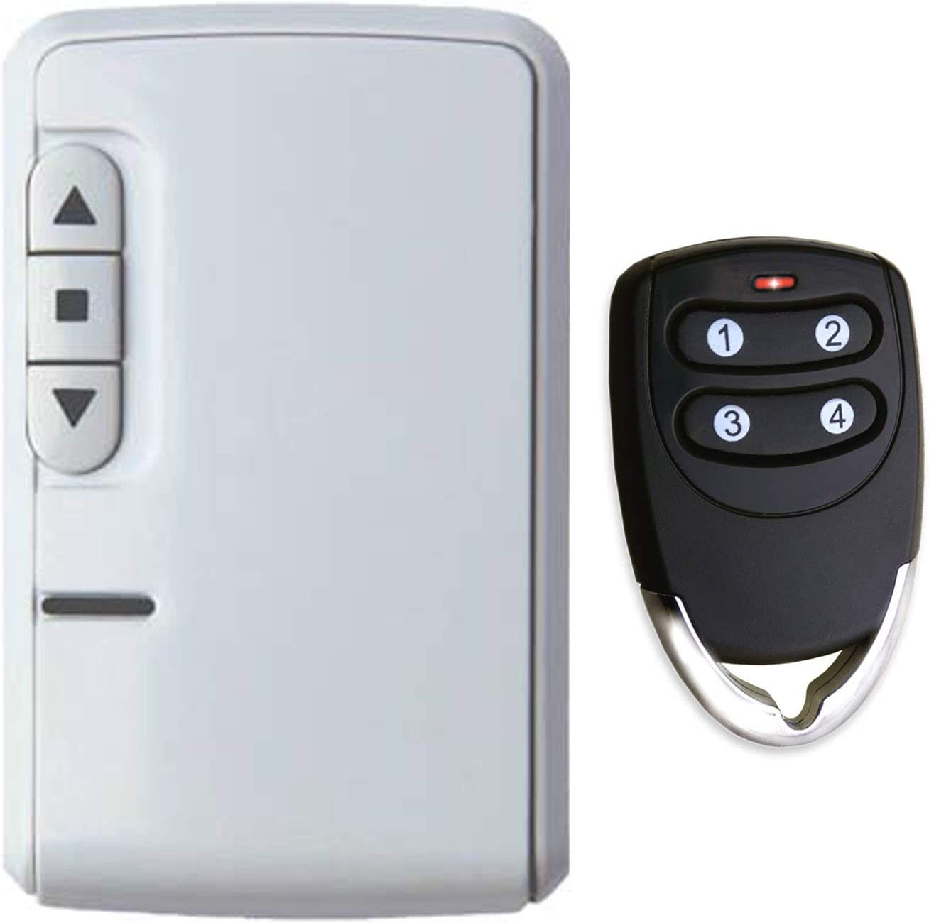 eMylo Smart Wireless RF Contr/ôleur de moteur Commutateur de relais Module 220V Moteur T/él/écommande Commutateur 90V-250V pour porte roulante//Rideau /électrique//Pompe /à eau Commande Moteur Avant//Arri/ère