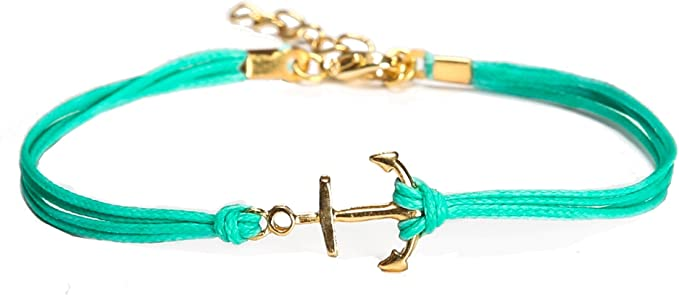 New Anklet ANCHOR Charm Ankle Bracelet Silver Plated Gift Ocean Nautical Jewelry
