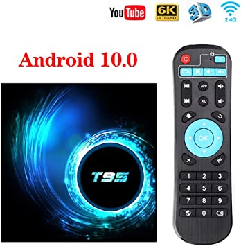 DOOK Android 10.0 TV Box,Android TV Box, Dual-WiFi 2.4GHz / 5GHz Allwinner H616 64-bit Quad Core Arm Cortex-A53 CPU 3D / 4K Full HD/H.265 / USB3.0 Android Smart TV Box,32g: Amazon.es: Deportes