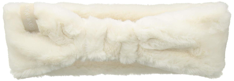 be1a20c4218 Calvin Klein Women s Faux Fur Solid Headband