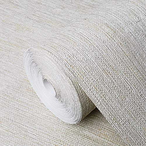 10m Portofino Italian wallcoverings Embossed Vinyl Non-Woven Wallpaper Modern Faux Rustic Beige Green Gold Metallic Sack Grasscloth Textured Lines Textures Double Rolls coverings Paste The Wall only
