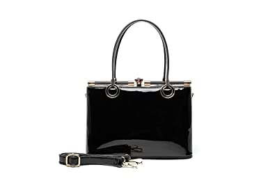 465cb6f149fe Image Unavailable. Image not available for. Color  Style Strategy Beryl Patent  Leather Bag