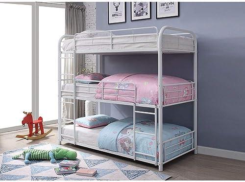 Metal Triple Bunk Bed