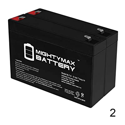 Mighty Max Battery 6V 7Ah SLA Battery Replacement for Hello Kitty Sports Car - 2 Pack Brand Product: Electronics