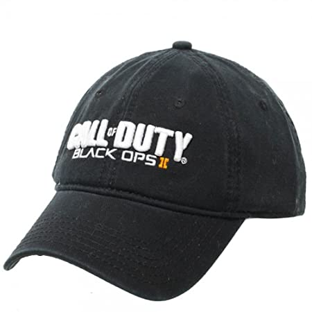 Amazon.com : Mens Call of Duty Ops II Adjustable Hat (Black) : Movie And Tv Fan Apparel Accessories : Sports & Outdoors