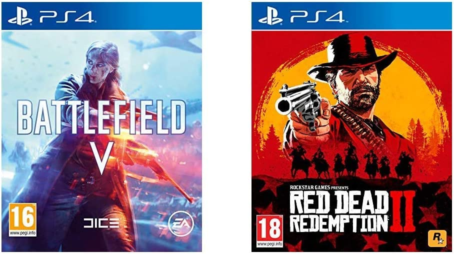 Battlefield V + Red Dead Redemption 2 - - PlayStation 4 [Importación inglesa]: Amazon.es: Videojuegos