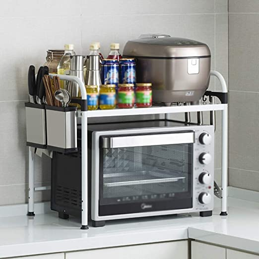 WIN&FACATORY Muebles de Cocina-Bastidores de microondas para ...