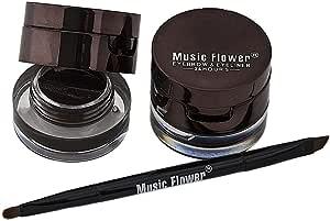 Music flower 2 in 1 Eye brow and Eyeliner