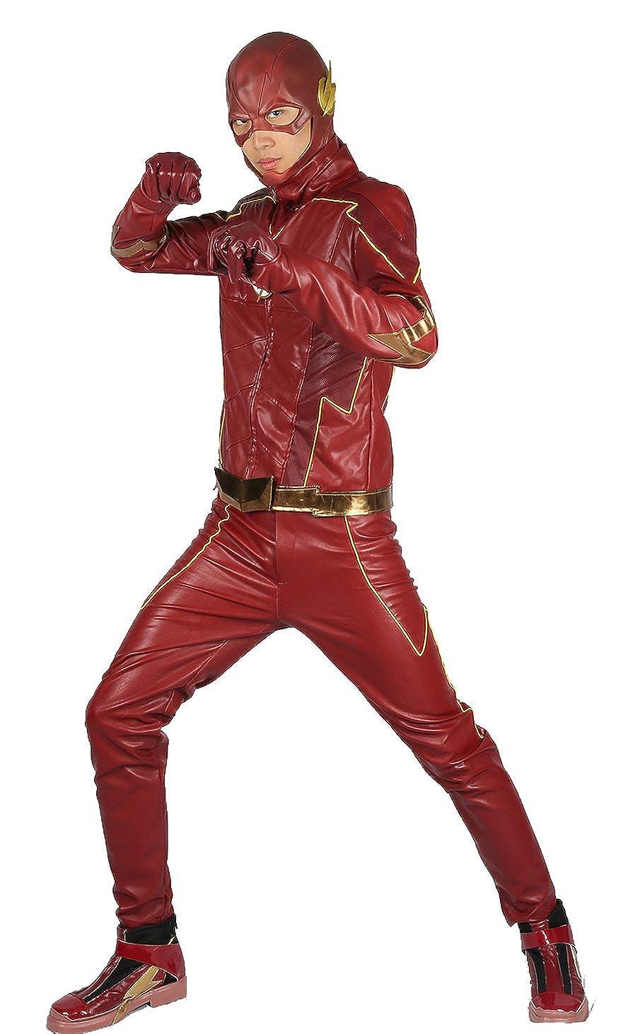 f74fe3c09cf7 Homme Cosplay Costume Season 4 Déguisement Tenue Cuir Veste avec Ceinture  Gants pour Adulte Vêtements Accessoires  Amazon.fr  Vêtements et accessoires