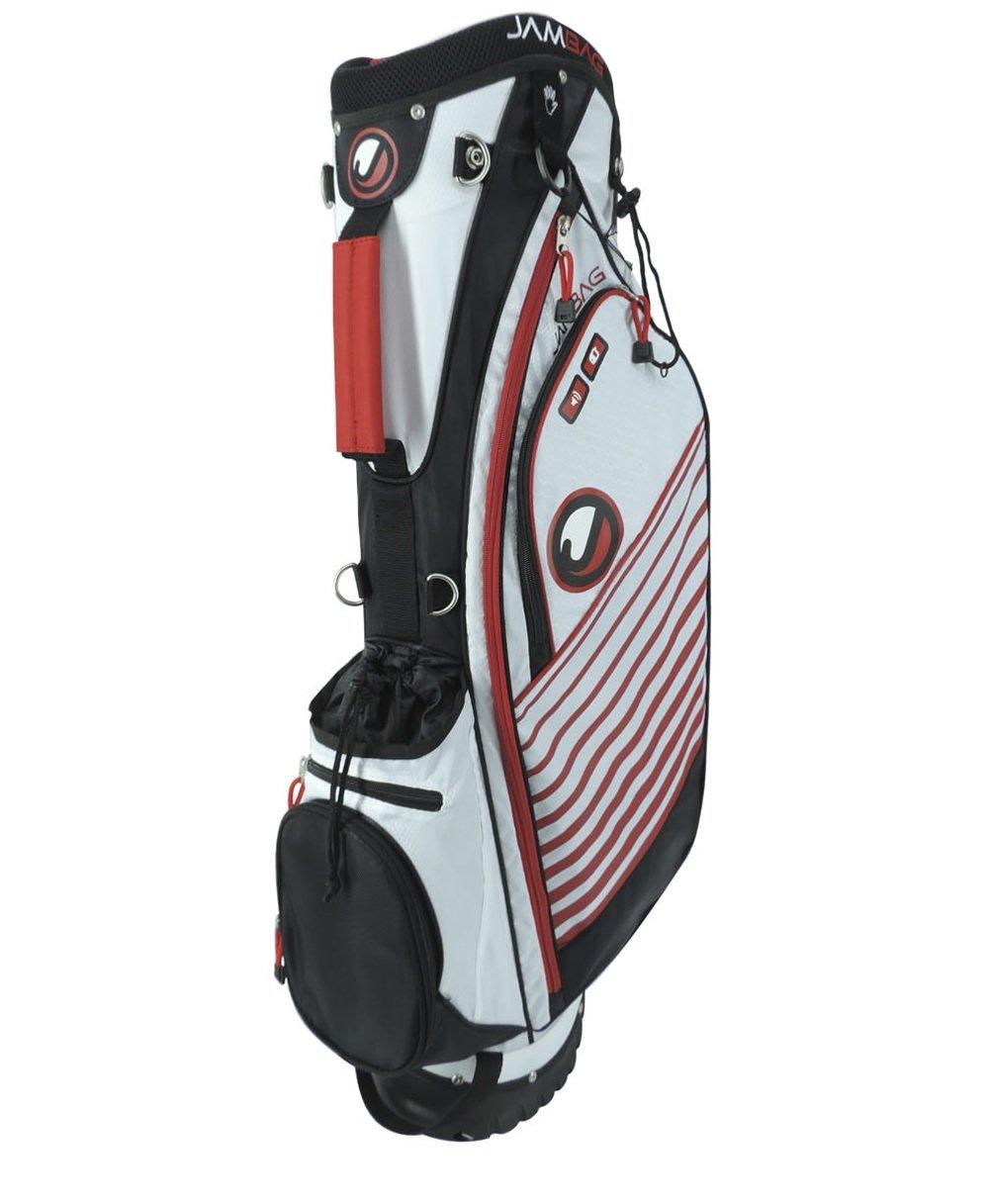 Orlimar 2015 OJam Vibeゴルフスタンドバッグ、ホワイト/ブラック/レッド   B00UD6B8QQ
