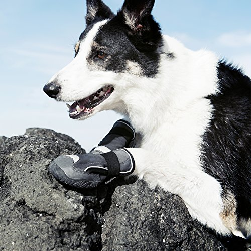 Hurtta Outback Dog Boots, Granite