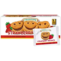 Fieldstone Bakery Strawberry Delights, 4 Boxes, 64 Individually Wrapped Cookies
