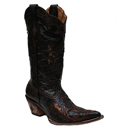 Cuadra - Botas y botines vaqueros Mujer , marrón (marrón), 40 EU: Amazon.es: Zapatos y complementos