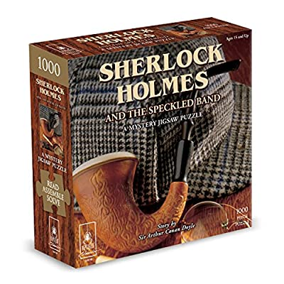 Classic Mystery Jigsaw Puzzle - Sherlock Holmes: Game: Toys & Games