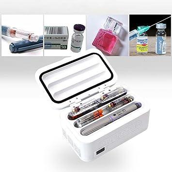 cenblue portátil mochila para diabéticos insulina nevera - Nevera ...