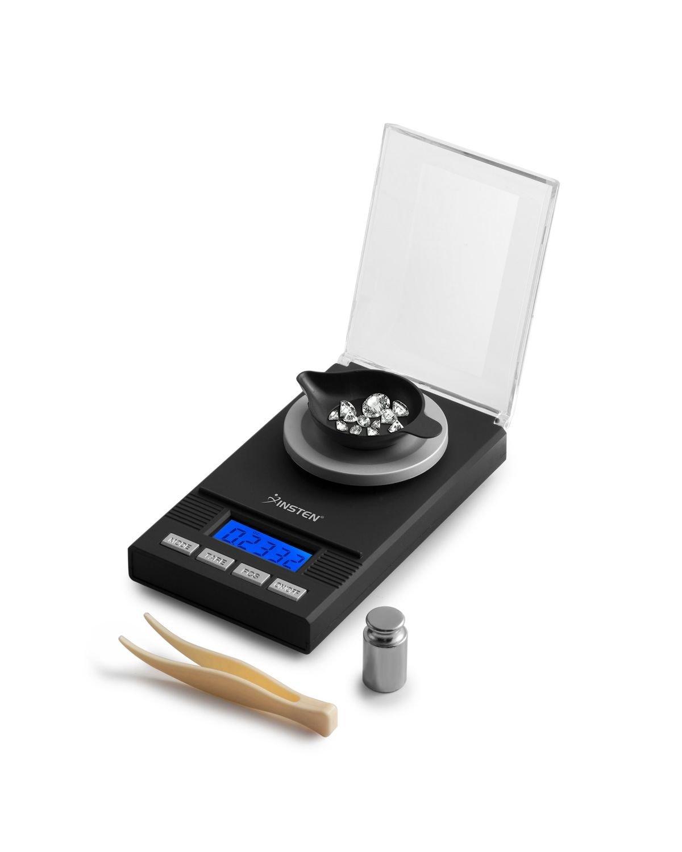 Insten Digital - Báscula de cocina de acero inoxidable con pantalla LCD, 1 g (0,04 oz) a 10000 g/15000 g (10 kg/15 kg) báscula de peso, multifunción, ...
