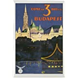 "CafePress - Budapest Hungary Rectangle Magnet - Rectangle Magnet, 2""x3"" Refrigerator Magnet"