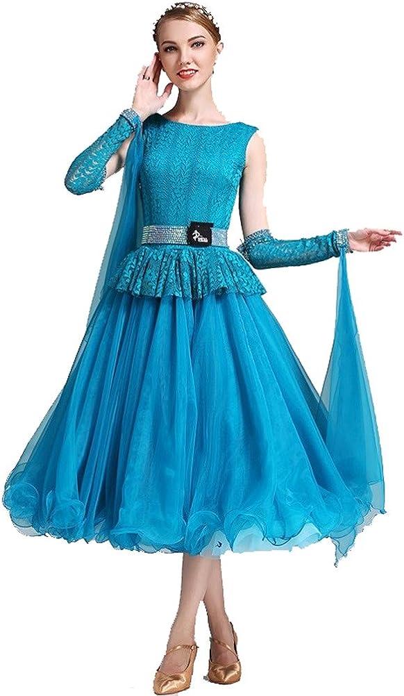 YILINFEIER DRESS レディース ブルー Small
