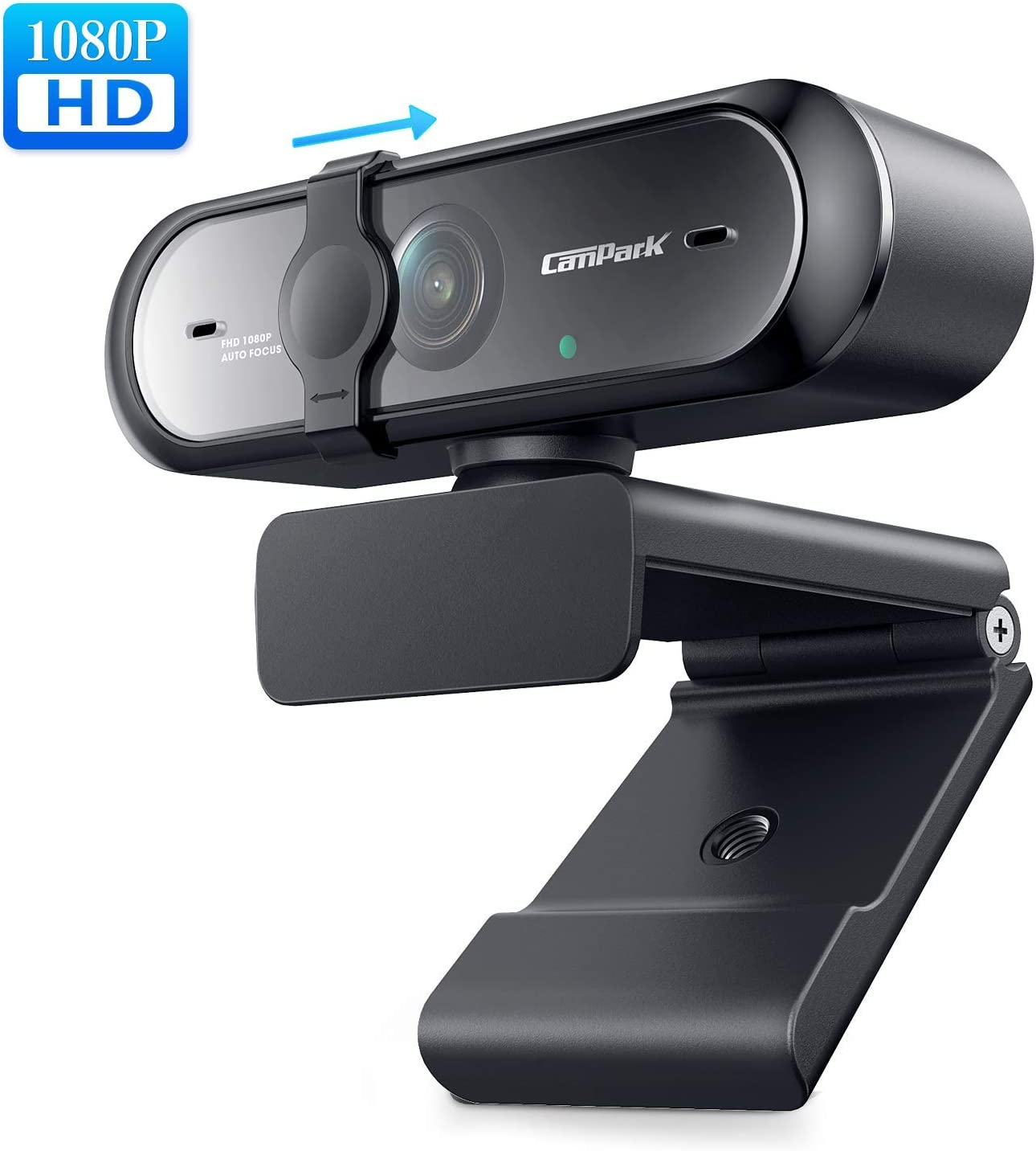 Amazon Com Webcam With Microphone 1080p Campark Autofocus Usb