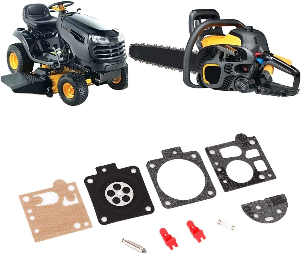 junta de kit de reparaci/ón de carburador de carburador para STIHL MS380 MS381 038 KIMISS Kit de carburador