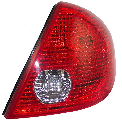 (Passengers Taillight Tail Lamp Lens Replacement for Pontiac G6 Sedan 15242808 GM2801201 AutoAndArt)