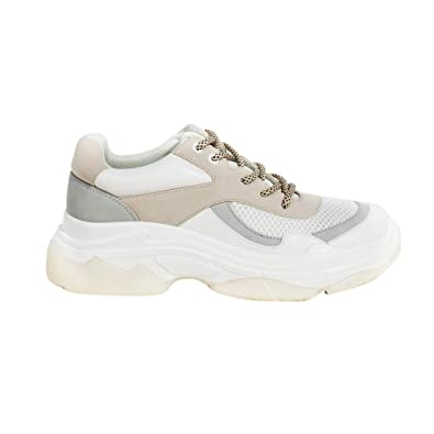 uk Parfois Women WhiteAmazon co Size Chunky Sneakers 7 zVpGqUMS