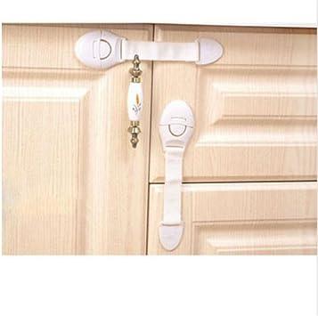 10x Baby Child Cupboard Cabinet Safety Locks Pet Proofing Door Drawer Fridge Kid