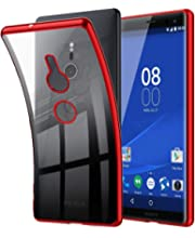 5ad7a82b5c G-LUCK Sony Xperia XZ3 ケース クリア SOV39 SO-01L ケース TPU ...