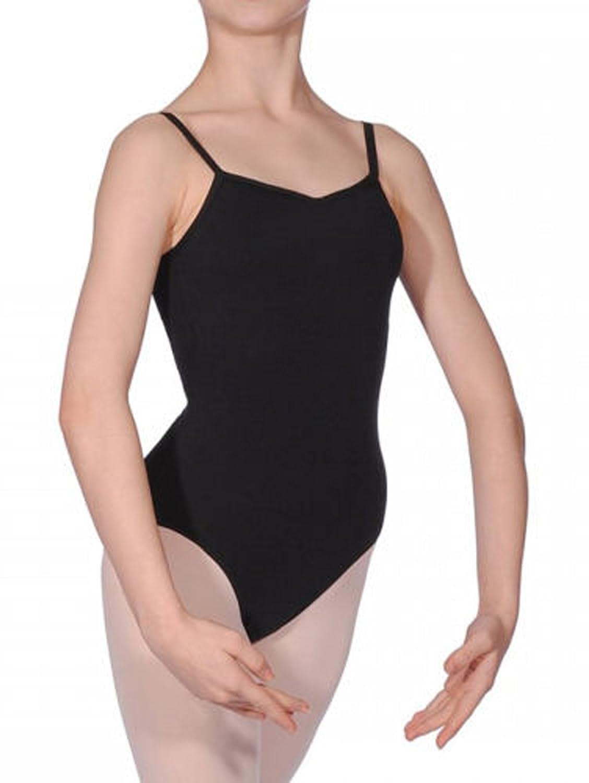 Black Girls Kids Cotton Ballet Dancewear Gym Strap* Leotard Bodysuit