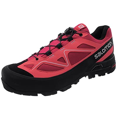 Salomon X Alp W 373322 25 Womens Hiking shoes / Approach boots / Trekking shoes Pink B06Y3T48NH