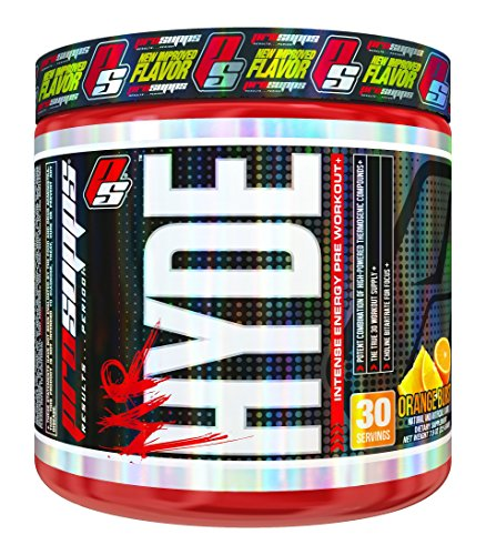 ProSupps Mr Hyde Intense Pre Workout Pikatropin Free Formula, Orange Burst, 7.9 Ounce