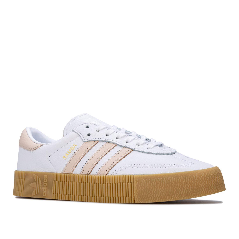 adidas Originals Sambarose Sneakers nere con suola in