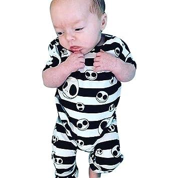 7005420b2f40 Amazon.com   Halloween Newborn Baby Boys Girls Jumpsuit Clothes ...