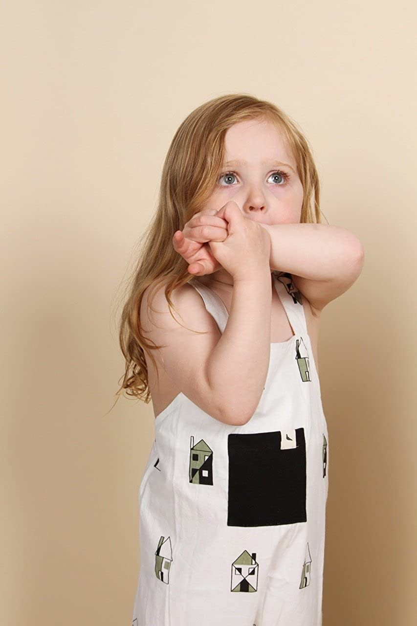 Turtledove London Shortie Woven Dungaree Our House Overalls
