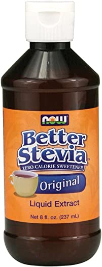 Now Foods BetterStevia Original Liquid Extract – 8 fl. oz. 4 Pack