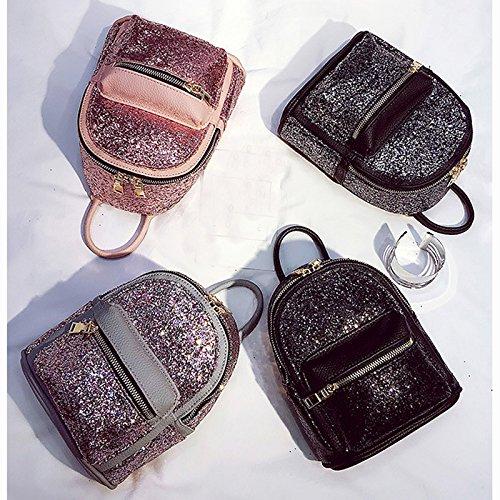filles sac ¨¤ Sequin paillettes des sac ¨¤ l'¨¦cole pour Sp1 Sparkle Casual femmes dos Daypack Bling Abuyall dos HRdwH0