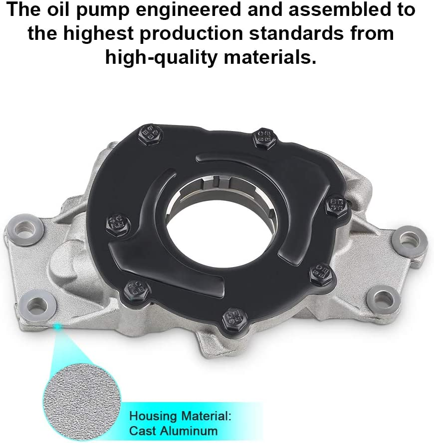 WMPHE M295 Oil Pump Kit Fits for Chevrolet GMC Pontiac Tahoe Engine Oil Pump