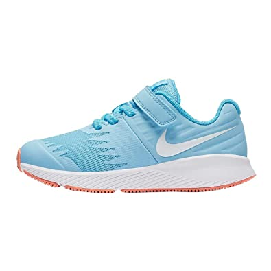 9b25567c685 Nike Girls Star Runner (PSV) Competition Running Shoes Multicolour (Cobalt  Tint White