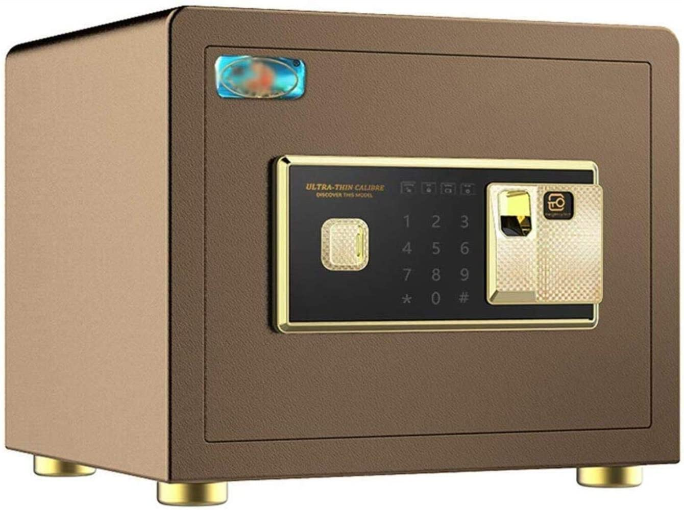 Safes Safes Security Digital Home With Keyboard Manual Cover Button Suitable For Family Business Or Travel 38X32X30Cm Safes