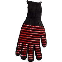 1 st BBQ Handschoen Warmte Geïsoleerde Magnetron Handschoen Barbecue Koken Grill Ontstekingsremmende Handschoen (Rode…
