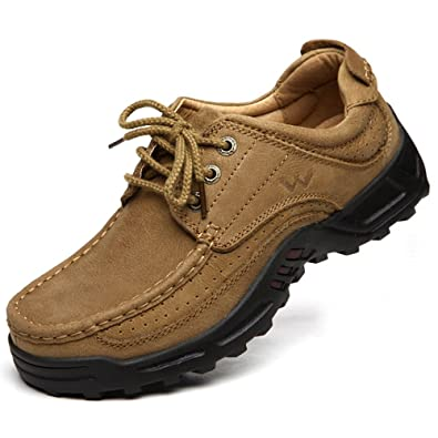 Men Shoes-Sport Casual Walking Tail Shoes for Your Formal Outdoor Activies-Breathable Lace upComfort