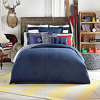 Amazon Com American Denim Comforter Set Queen Home