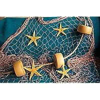 10 X 9 Fishing Net, Fish Net, Netting,Rope, Starfish, Floats, Nautical Decor