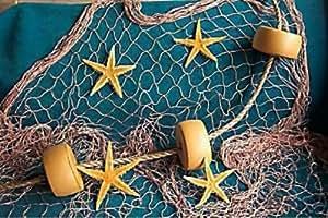 10 x 9 fishing net fish net netting rope for Amazon fishing net