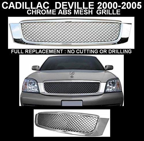CADILLAC DEVILLE 00-05 Z GRILLE (CHROMED 10U) BENTLEY STYLE